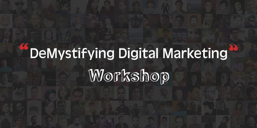 Workshop by Pixel Studios on Demystifying Digital Marketing - Pixel Studios Blog | Pixel Studios Chennai